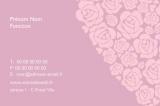 Imprimer des étiquettes pour coller ou attacher aux bouquets de fleurs.