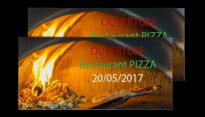 Exemple de flyers pour pizzeria