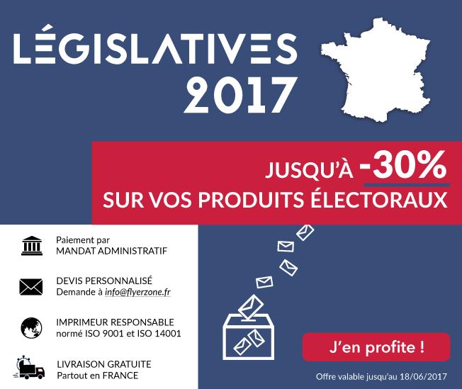 30% sur les produits électoraux