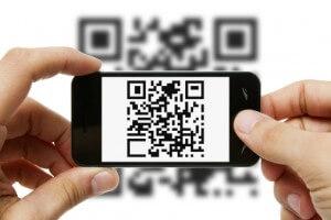 Carte de visit avec QR code