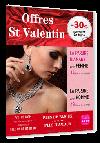 flyer avec offre saint valentin