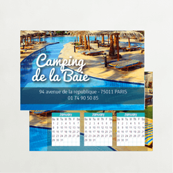 Calendrier camping