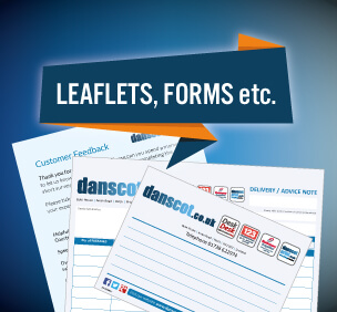 graphic design branding leaflets, forms and stationery
