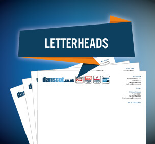 graphic design branding letterheads
