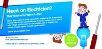 Electricians flyer