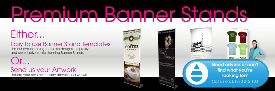 Premium Banner Stands