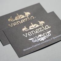 Business card: Matt Laminated + Foil NEW!