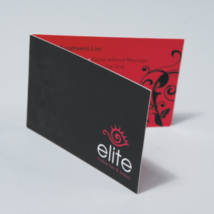 Business card: Shaped or Folded