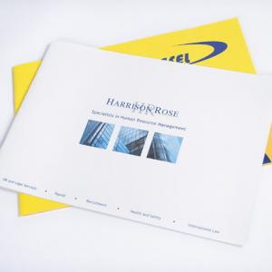 A4 Landscape Booklets : 170gsm Silk
