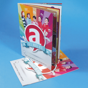A5 Portrait Booklets : 130gsm Gloss