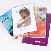 A5 Portrait Booklets : 170gsm Silk