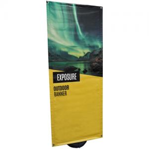 Exposure Outdoor Banner Stand