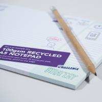 100gsm Recycled Notepads