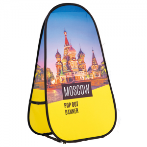 Moscow Pop Out Banner