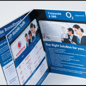 Digital A4 Booklets : Thin White Border : 150gsm