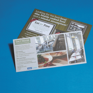 Digital 130gsm  Gloss Leaflet