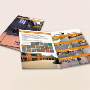 130gsm Gloss A4 Stapled Brochures