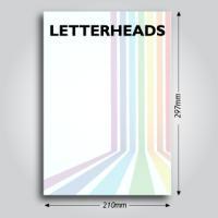 120gsm Letterheads