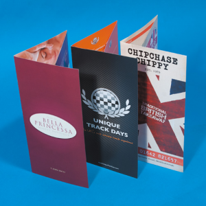 280gsm Silk Folded Flyers