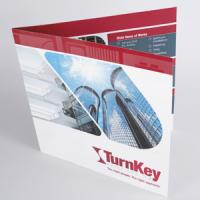 Thick Flyers: Gloss Laminated front | Shaped