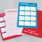 Pocket calendars :: 400gsm silk + matt laminated Luxury Pocket Calendars