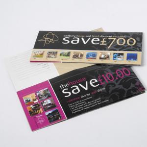 Brochures 1/3 de A4 avec coupons-réponse