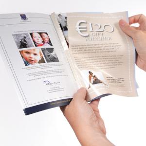 Brochures A5 avec feuillet détachable