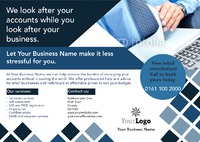 Accountants A5 Leaflets - Front