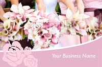 Florist Business Card  - Front