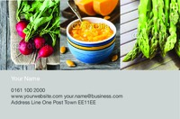 Grocery Store Business Card  - Front