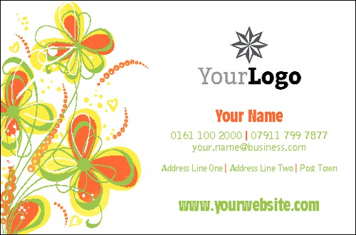 Florist Business Card  by Mac Poustchi 