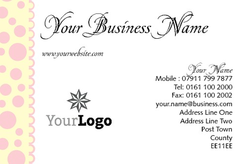 Bakers Business Card  by TemplateCloud Team