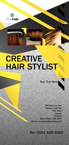 Hair 1/3rd A4 Leaflets by Mr Neil Watson