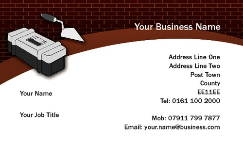 Home Maintenance Business Card  by Mr Neil Watson