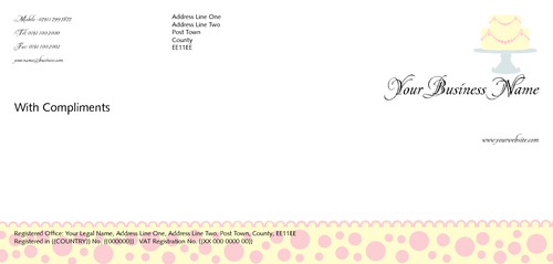 Bakers 1/3rd A4 Stationery by TemplateCloud Team