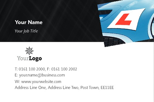 Learning To Drive Business Card  by SC Creative