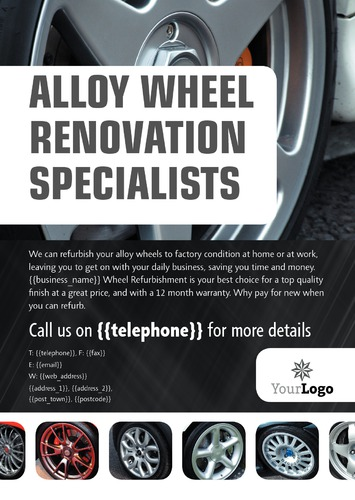 Automotive A4 Leaflets by SC Creative