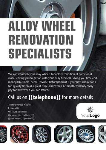 Automotive A5 Leaflets by SC Creative