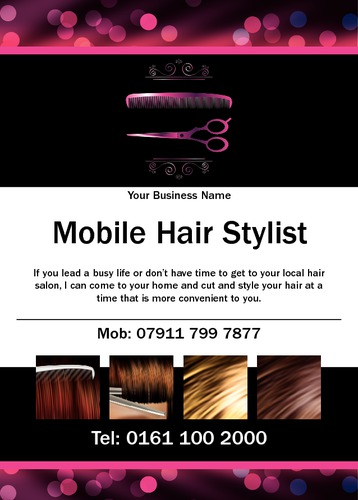 Hair A6 Flyers by Mr Neil Watson