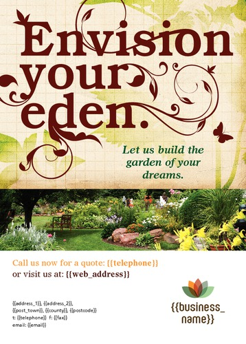 Garden Maintenance A6 Flyers by TemplateCloud Team