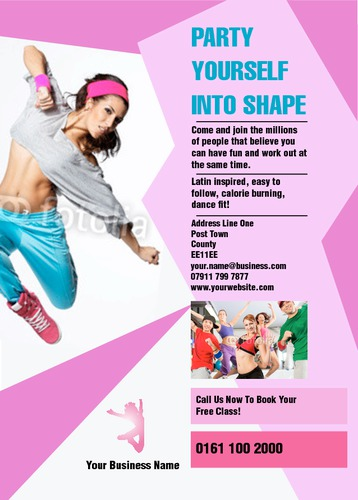 Dance A6 Leaflets by Rebecca Doherty