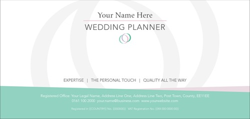 Wedding Planners 1/3rd A4 Stationery by Kirsty Murray