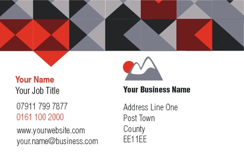Camping Business Card  by C V