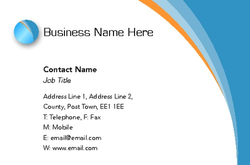 Technology Business Card  by SC Creative 