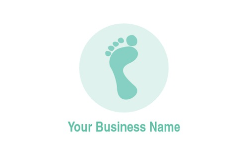 Podiatrist Business Card  by Rebecca Doherty