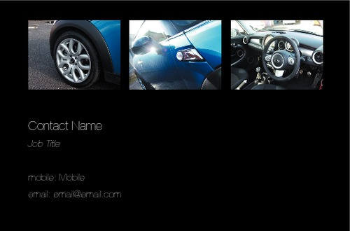 Car Dealers Business Card  by SC Creative