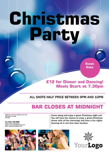 Night Club A3 Leaflets by Mr Neil Watson