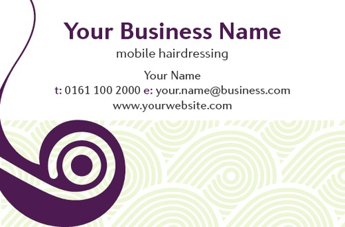 Beauty Salon Business Card  by Ashley Moore 