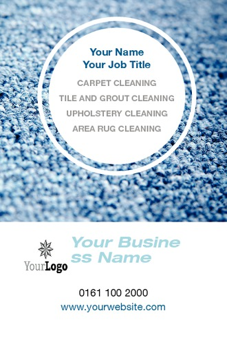 Cleaning Business Card  by TemplateCloud Team