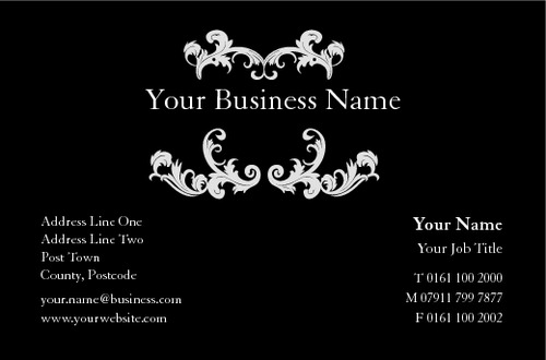 Hair &amp; Beauty Business Card  by Peter Stewart 
